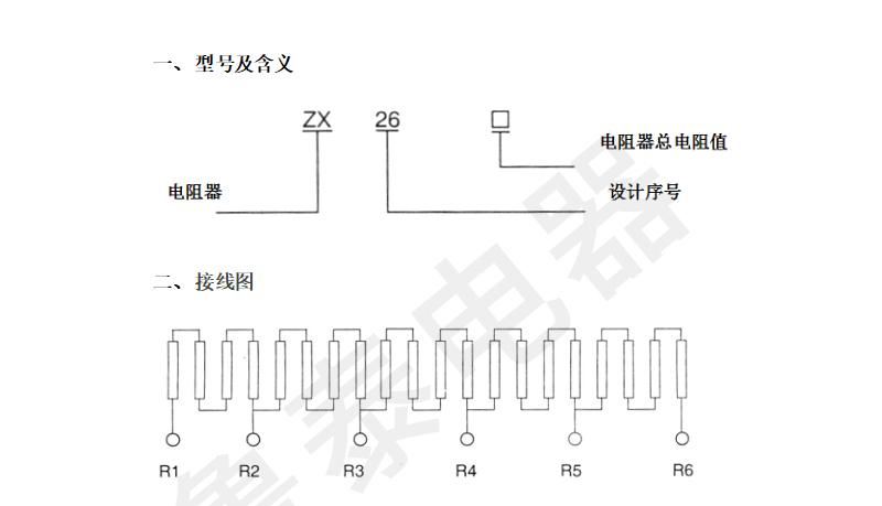 ZX26-系列不锈钢电阻器